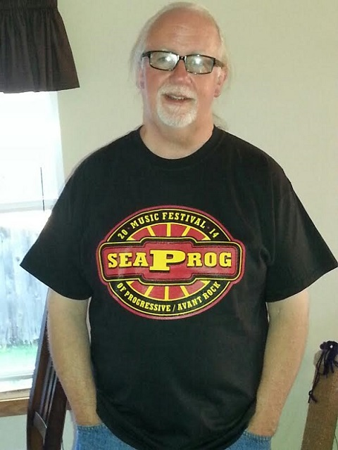 Seaprog 2014 T-shirt on a lovely model